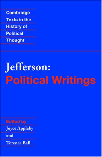 Jefferson Political Writings  1999 edition cover