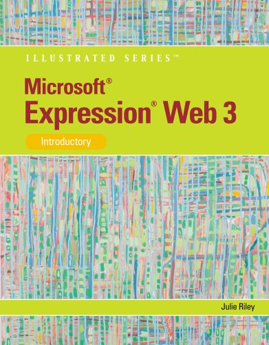 Microsoft� Expression Web 3 Introductory  2011 edition cover