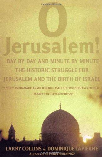 O Jerusalem!   1988 edition cover