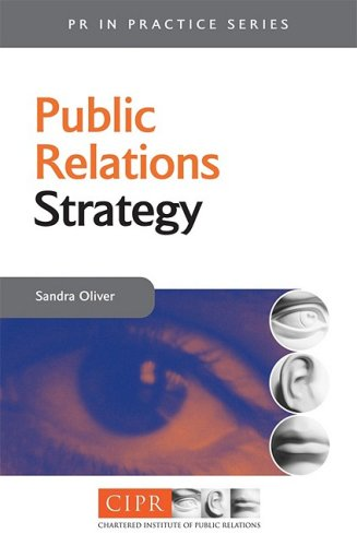 Public Relations Strategy A Guide to Corporate Communications Management  2001 9780749435417 Front Cover