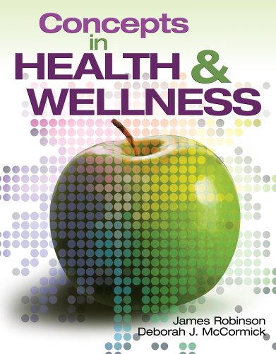 Concepts in Health and Wellness   2011 edition cover