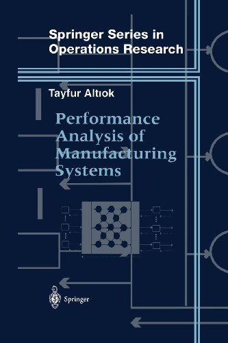 Performance Analysis of Manufacturing Systems   1997 edition cover