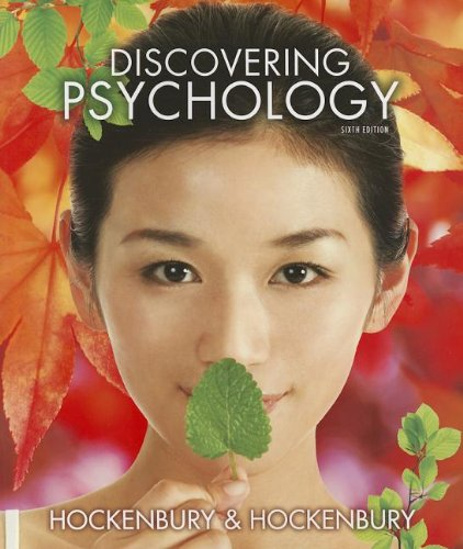 Discovering Psychology:  6th 2012 9781464102417 Front Cover