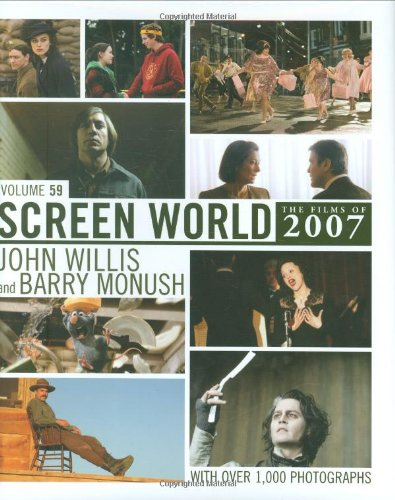 Screen World The Films of 2007  2008 9781557837417 Front Cover