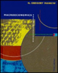 Macroeconomics  3rd 1996 9781572591417 Front Cover