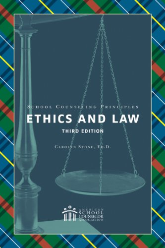 SCHOOL COUNSELING PRINCIPLES:E N/A edition cover