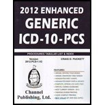 2012 Enhanced Generic ICD-10 PCS  N/A edition cover