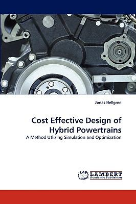Cost Effective Design of Hybrid Powertrains N/A 9783838321417 Front Cover