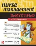 Nurse Management Demystified   2007 9780071472418 Front Cover