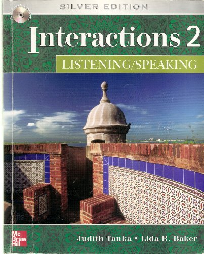 Interactions Level 2 Listening/Speaking Student Book  5th 2004 (Revised) 9780073337418 Front Cover
