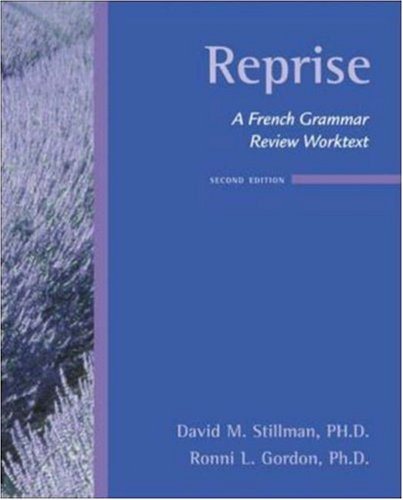 Reprise A French Grammar Review Worktext 2nd 2007 (Revised) edition cover