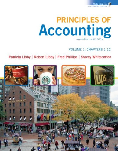 Principles of Accounting Volume 1 Ch 1-12 with Annual Report   2009 9780077300418 Front Cover