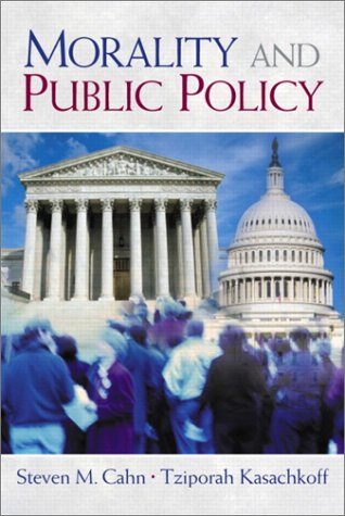 Morality and Public Policy   2003 9780130418418 Front Cover