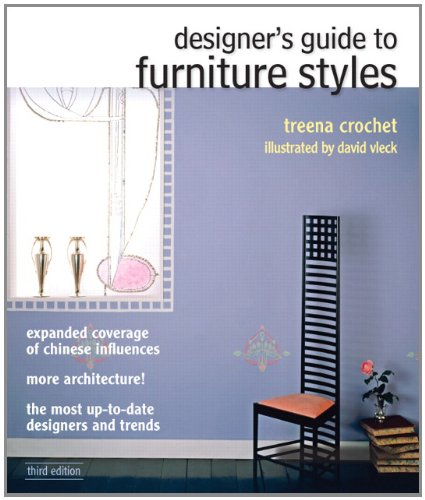 Designer's Guide to Furniture Styles  3rd 2013 (Revised) edition cover