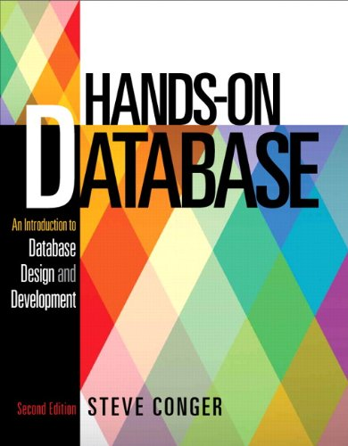 Hands-On Database:   2013 edition cover