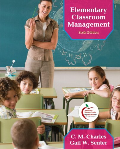 Elementary Classroom Management  6th 2012 edition cover