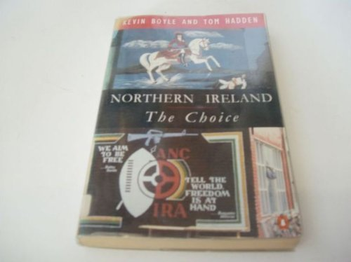 Northern Ireland The Choice  1994 edition cover
