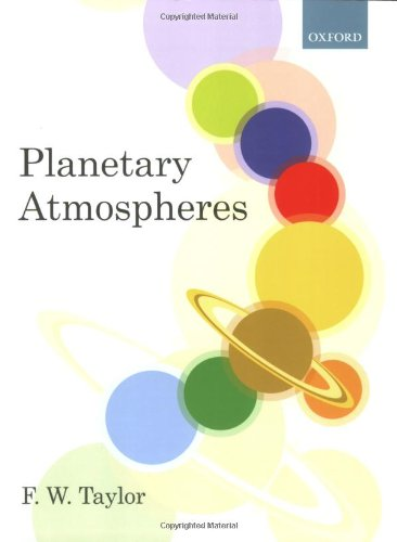 Planetary Atmospheres   2010 9780199547418 Front Cover