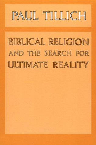 Biblical Religion and the Search for Ultimate Reality  N/A edition cover