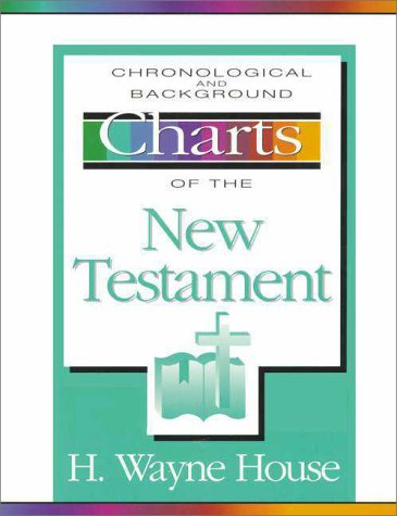 Chronological and Background Charts of the New Testament   1981 edition cover