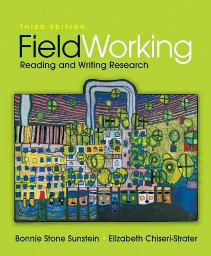 FieldWorking Reading and Writing Research 3rd 2007 edition cover