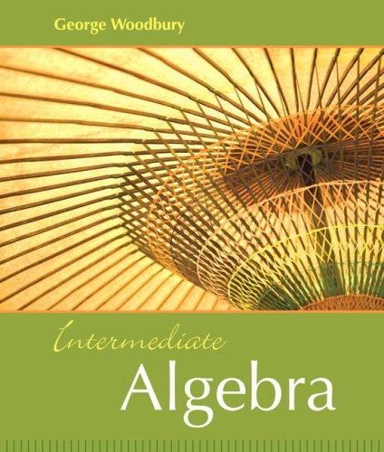 Intermediate Algebra   2009 9780321166418 Front Cover
