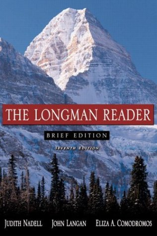 Longman Reader  7th 2005 (Revised) 9780321236418 Front Cover