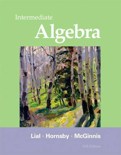 Intermediate Algebra  11th 2012 (Revised) edition cover
