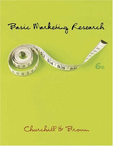 Basic Marketing Research  6th 2007 9780324305418 Front Cover