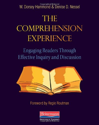 Comprehension Experience Engaging Readers Through Effective Inquiry and Instruction  2011 9780325030418 Front Cover