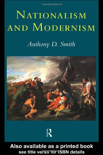 Nationalism and Modernism A Critical Survey of Recent Theories of Nations and Nationalism  1998 edition cover