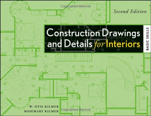 Construction Drawings and Details for Interiors Basic Skills 2nd 2009 9780470190418 Front Cover