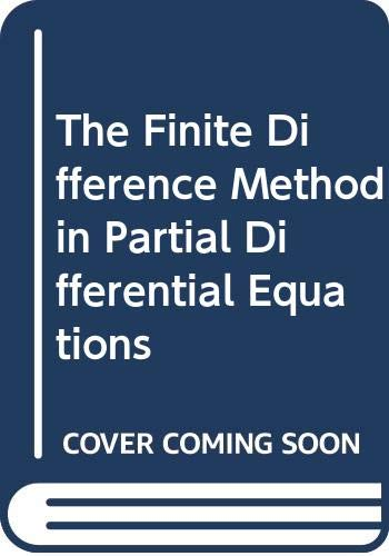 Finite Difference Method in Partial Differential Equations   1980 9780471276418 Front Cover