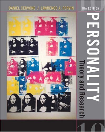 Personality Theory and Research 10th 2008 (Revised) edition cover