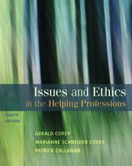 Issues and Ethics in the Helping Professions  8th 2011 edition cover