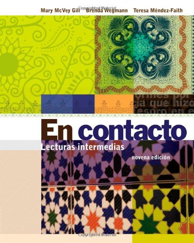 En Contacto Lecturas Intermedias 9th 2012 edition cover