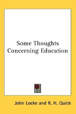 Some Thoughts Concerning Education  N/A edition cover