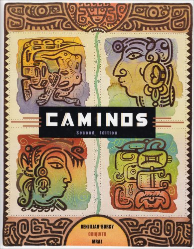 Caminos  2nd 2002 9780618112418 Front Cover