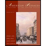 American Passages: A History of the United States: Comprehensive Volume with InfoTrac + The American Journey, 2nd Ed:  2nd 2006 9780618914418 Front Cover