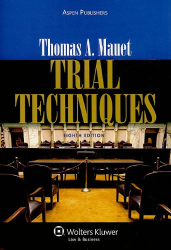 Trial Techniques 8e  8th 2010 (Revised) edition cover