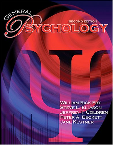 General Psychology 2nd 2005 (Revised) edition cover