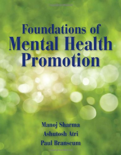 Foundations of Mental Health Promotion   2013 edition cover