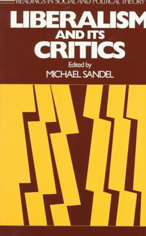 Liberalism and Its Critics   1984 edition cover