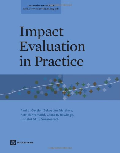 Impact Evaluation in Practice   2014 edition cover