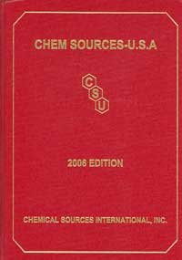2006 Chem Sources USA:  2006 edition cover