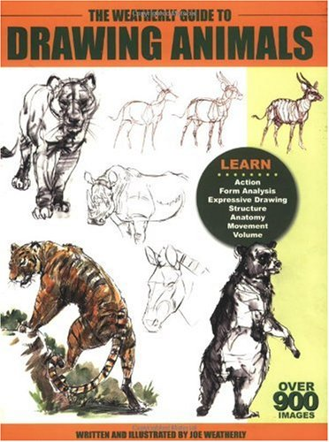 The Weatherly Guide to Drawing Animals  2003 edition cover