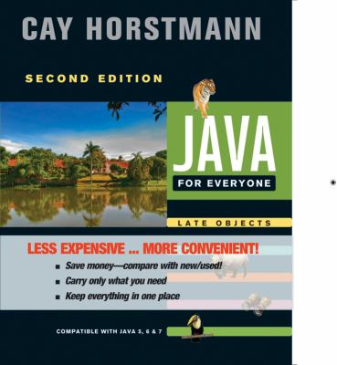 Java for Everyone  2nd 2013 edition cover