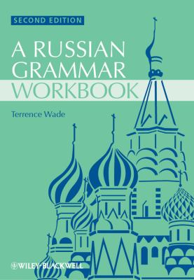 Russian Grammar Workbook  2nd 2012 edition cover
