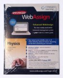 Enhanced WebAssign College Physics Access Card (One Term) 1st edition cover