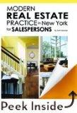Modern Real Estate Practice in New York for Salespersons, 11 E N/A edition cover